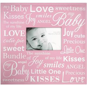 "MBI Expressions Scrapbook Album W/Window 12""X12"" Baby - Pink"