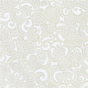 Nutex Kiwiana Fabric - Moko - Ivory