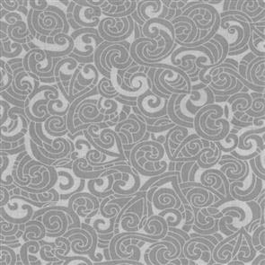 Nutex Kiwiana Fabric - Moko Grey