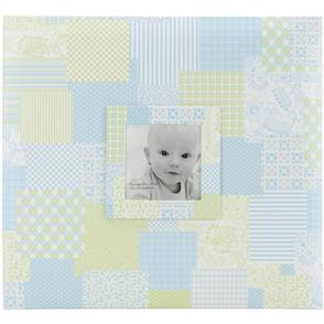 "MBI Baby Post Bound Album W/Window 12""X12"" - Blue"
