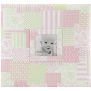 "MBI Baby Post Bound Album W/Window 12""X12"" - Pink"