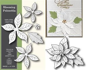 Poppystamps Blooming Poinsettia - Die