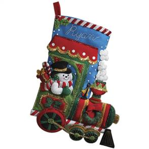 Bucilla  Felt Christmas Stocking Kit - Candy Express