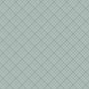 Wilmington Prints  A Country Weekend - Diagonal Plaid Grey