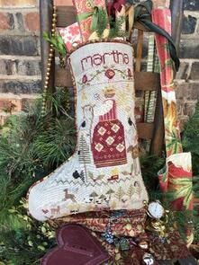 Shepherds Bush Stocking - Martha's Stocking