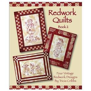 FriendFolks  Redwork Quilts Book 2