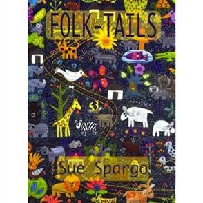 Sue Spargo Folk Tails Book