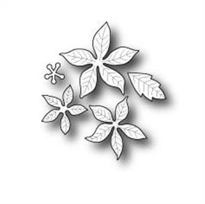 Poppystamps  Blooming Poinsettia Small - Die