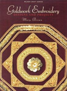 Milner Craft  Goldwork Embroidery