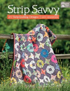 "Martingale  Strip Savvy: 2 1/2""-Strip Quilting Designs"