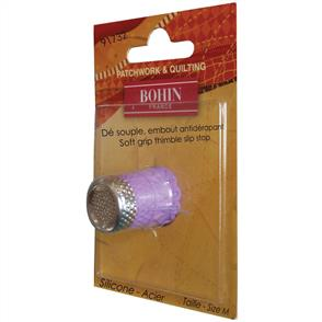 Bohin Silicone Thimble with Steel Top - Medium