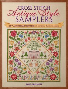 DAVID & CHARLES  Cross Stitch Antique Style
