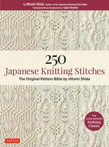 Tuttle Publishing  250 Japanese Knitting Stitches: The Original Pattern Bible