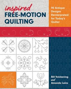 Stash Books  Inspired Free-Motion Quilting