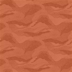 Figo Fabrics  Elements Quilt Fabric - Earth in Rust - 92007-32