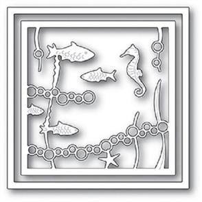 Memory Box  Dies - Ocean Layer Frame