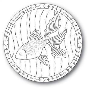 Memory Box  Serene Goldfish - Dies