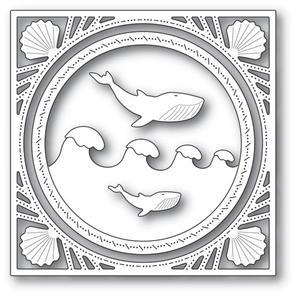 Memory Box  Wonderful Whale Frame - Dies