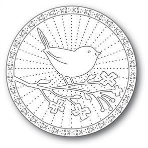 Memory Box  Dies - Perched Bird