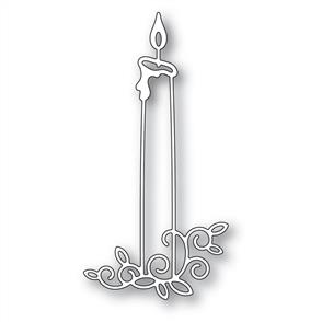 Memory Box  Dies - Gilded Taper Candle