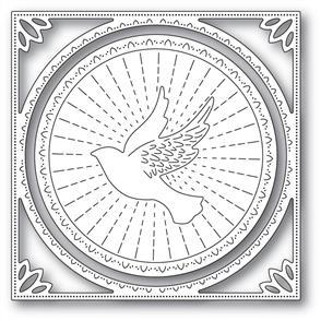 Memory Box  Dies - Shining Dove Frame