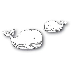 Memory Box  Whale Family Die