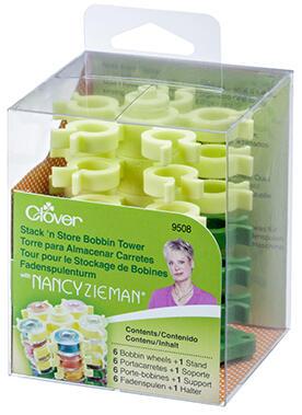 Clover  Stack 'n Store Bobbin Tower - Nancy Zieman