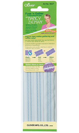 Clover  Fuse 'n Gather Fusible Gathering Tape
