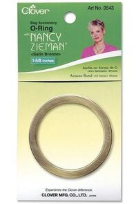 Clover O-Ring 40mm Bronze | Nancy Zieman
