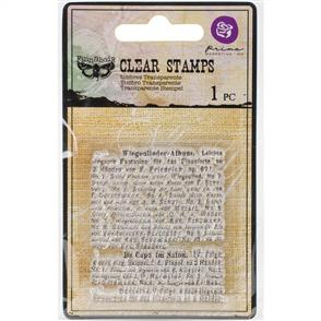 Finnabair  Clear Stamp - Read to Me