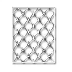 Poppystamps  Die - Diamond Background