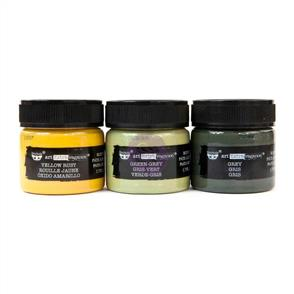 Finnabair Rust Effect Paste Set - Military Rust