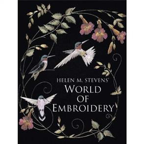 DAVID & CHARLES Helen M. Stevens' World of Embroidery (Softcover)