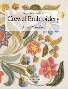 Search Press Beginner's Guide to Crewel Embroidery