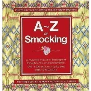 Search Press A-Z of Smocking