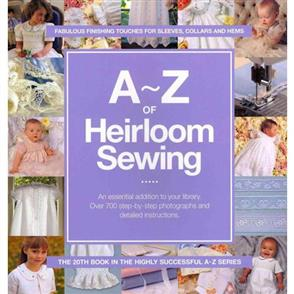 Search Press A-Z of Heirloom Sewing