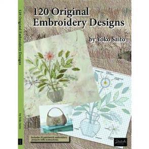 Yoko Saito 120 Original Embroidery Designs