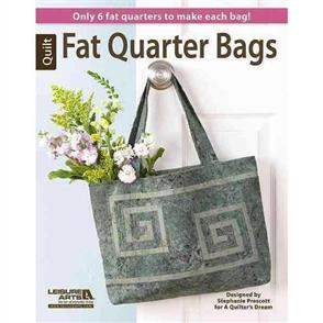 Leisure Arts Fat Quarter Bags : Only 6 Fat Quarters to Make Each Bag!