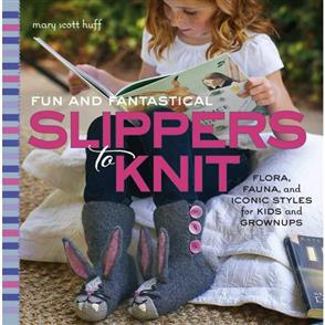 Rockport Publishers  Fun & Fantastical Slippers to Knit