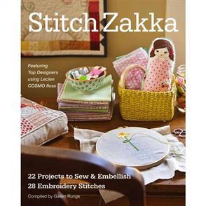 C&T Publishing Stitch Zakka : 22 Projects to Sew & Embellish