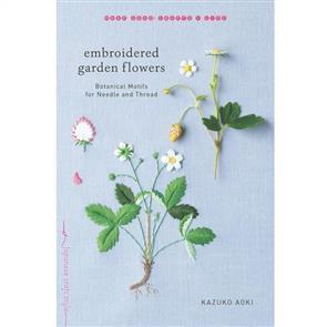 MISC Embroidered Garden Flowers