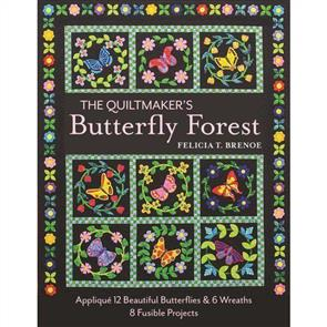 C&T Publishing  The Quiltmaker's Butterfly Forest