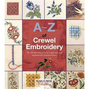 Search Press A-Z of Crewel Embroidery