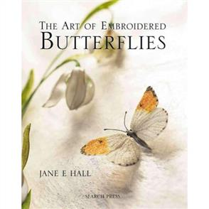 Search Press  The Art of Embroidered Butterflies