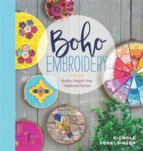 Lucky Spool Media  Boho Embroidery: Modern Projects from Traditional Stitches