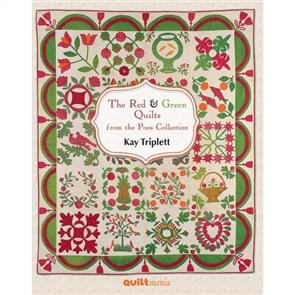QuiltMania  Books - The Red & Green Quilts