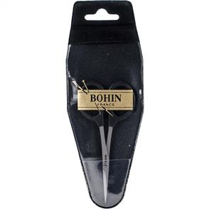 "Bohin  Embroidery Scissors 4"" - Black"