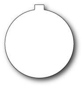 Memory Box  Dies - Globe Ornament