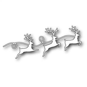 Memory Box  Die - Reindeer Parade