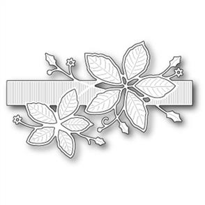 Memory Box  Die - Poinsettia Band